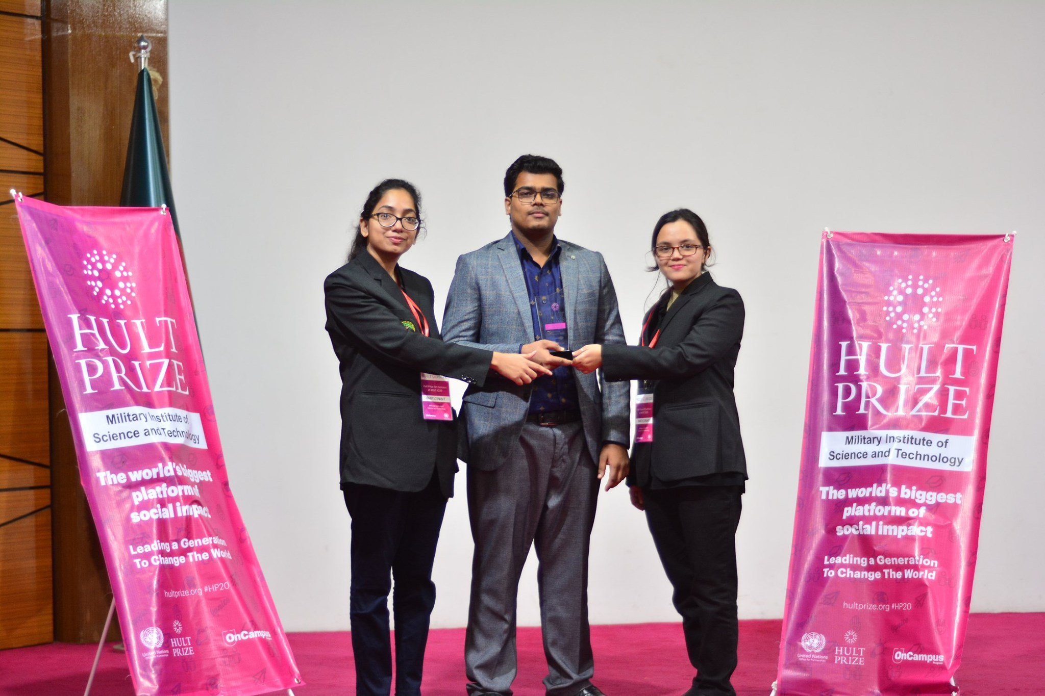 1ST RUNNER-UP OF THE ON-CAMPUS ROUND OF HULT PRIZE, 2020
