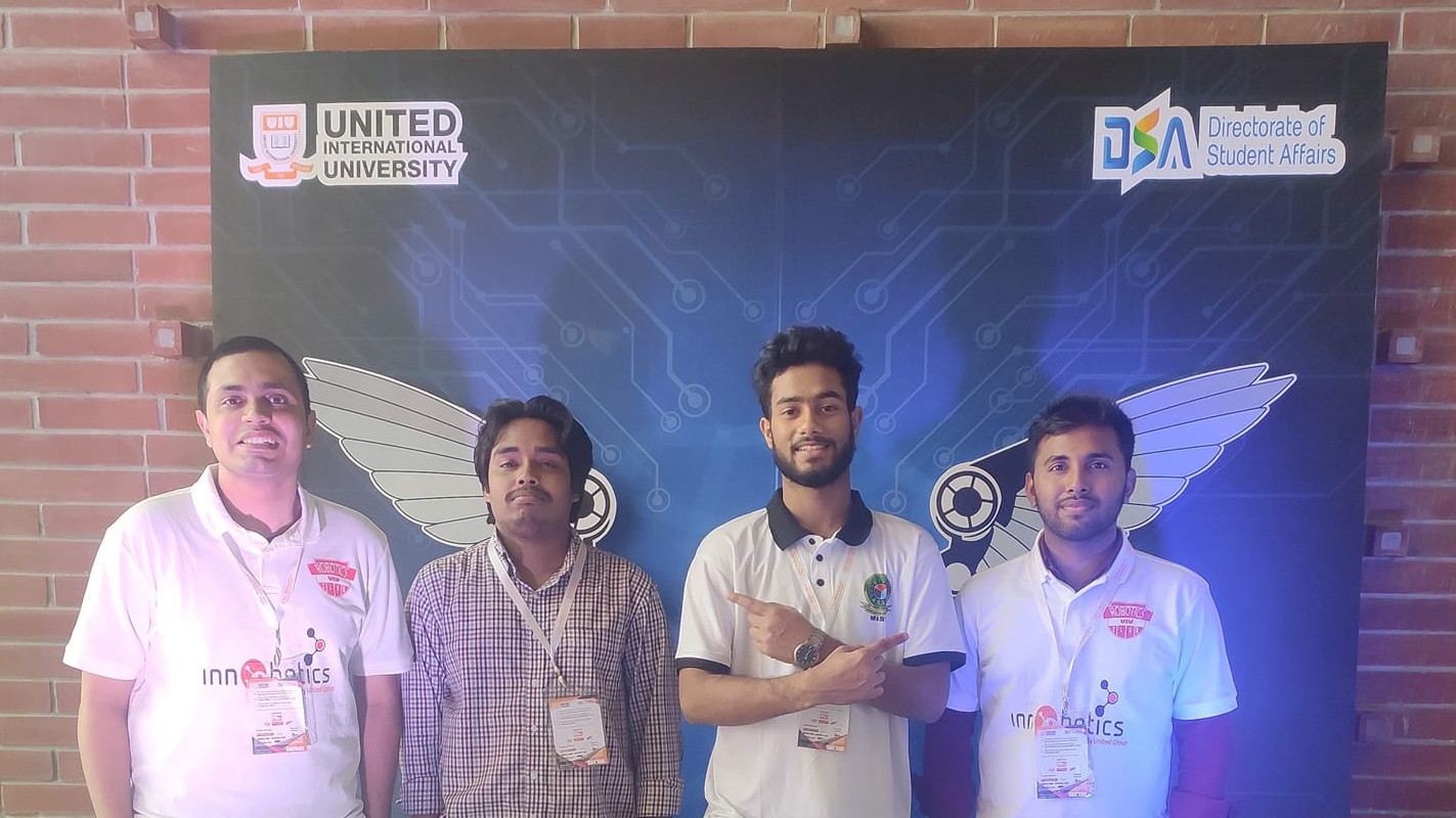 3RD POSITION IN INNOBOTICS, 2020 (UIU)