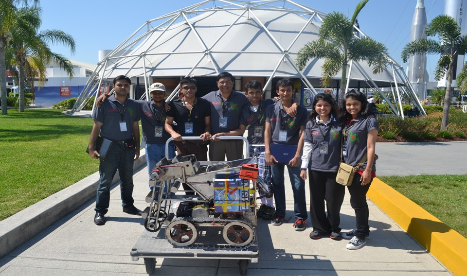 NASA Lunabotics Mining Competition 2012