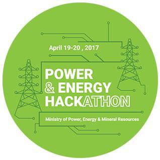 2ND RUNNER UP AT POWER AND ENERGY HACKATHON, 2017
